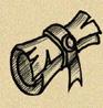 parchment scribe- larp rpg carathir